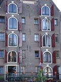 Gebäude in Amsterdam Stockfotos