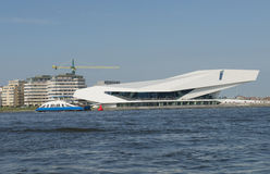 Gebäude Amsterdams EYE's Lizenzfreie Stockfotografie