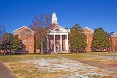 Gebäude auf dem Campus von einem historisch Schwarzen uni stockfotografie
