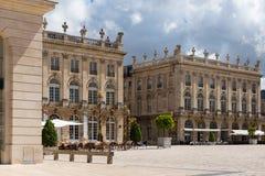 Gebäude auf dem Stanislas-Platz in Nancy die goldene Stadt Lizenzfreie Stockbilder