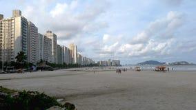 Gebäude auf dem Strand Lizenzfreie Stockfotografie