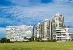 Gebäude auf der Promenade Stockfoto