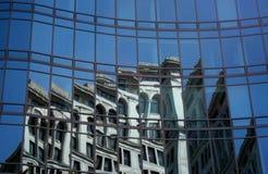 Gebäude auf einem Gebäude Stockbilder