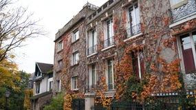 Gebäude auf Monmartre Lizenzfreies Stockbild