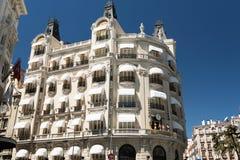 Gebäude auf Piazzade-las Cortes Lizenzfreies Stockfoto