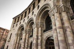 Gebäude auf Republik-Quadrat Bis 2016 brachte dieses Gebäude Th unter Lizenzfreie Stockfotografie