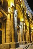 Gebäude auf Republik-Quadrat nachts Bis 2016 dieses errichtende h Lizenzfreie Stockbilder