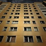 Gebäude auf Warschau Lizenzfreie Stockfotografie