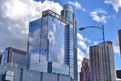 Gebäude in Austin, Texas Lizenzfreies Stockfoto