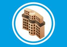 Gebäude-Bank Lizenzfreie Stockfotos