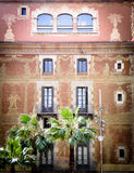 Gebäude in Barcelona Stockfotos
