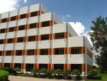 Gebäude bei Digha Lizenzfreies Stockbild