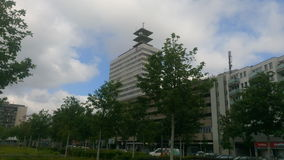 Gebäude Bielefelds Telekom Lizenzfreies Stockbild