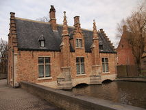 Gebäude (Brügge, Belgien) Lizenzfreies Stockbild