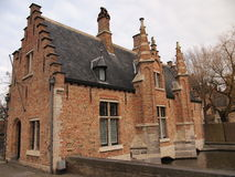 Gebäude (Brügge, Belgien) Lizenzfreie Stockfotos