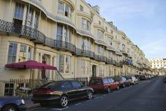 Gebäude in Brighton stockbilder