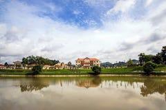 Gebäude das commmittee Madagui-Leute Stockfoto