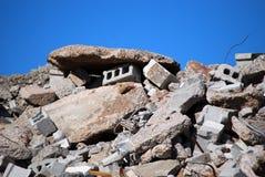 Gebäude-Demolierung Stockbild