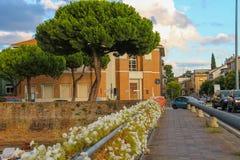 Gebäude der Abteilung der industriellen Chemie in Rimini, Italien Lizenzfreies Stockbild
