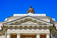 Gebäude der Akademie von Künsten in St Petersburg, Russland Stockbild