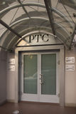 Gebäude der Börse des russischen Handelssystems stockfotografie