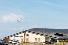 Gebäude der Fischauktion Criee du Croisic, Frankreich Lizenzfreies Stockfoto