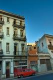 Gebäude in der Havana-Stadt Stockfotografie