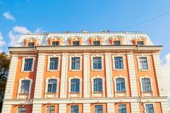 Gebäude der Highschool von Volkskünsten am Griboyedov-Kanaldamm in St Petersburg, Russland Lizenzfreie Stockfotografie