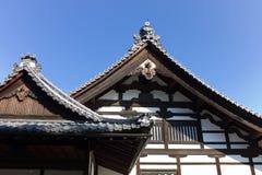 Gebäude der japanischen Art Stockbild