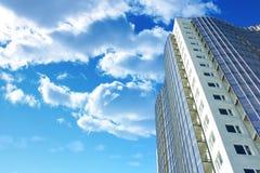 Gebäude in der Perspektive Stockfoto