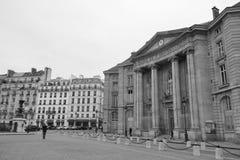 Gebäude der Rechtsabteilung der Universität von Paris Stockbild