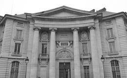 Gebäude der Rechtsabteilung der Universität von Paris Lizenzfreie Stockfotografie