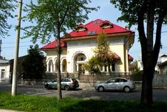 Gebäude in der Stadt Braila, Rumänien Lizenzfreies Stockfoto