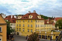 Gebäude in der Tschechischen Republik stockfotografie