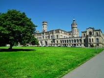 Gebäude der Universität Leibniz stockfotografie