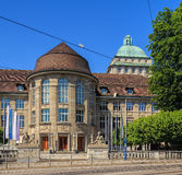 Gebäude der Universität von Zürich Stockbilder