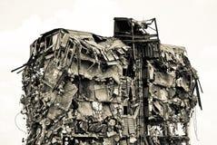 Gebäude in der Verzweiflung Stockfotografie