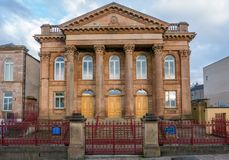 Gebäude in Derry, Nordirland lizenzfreies stockfoto