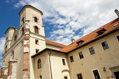 Gebäude des Benediktinerklosters - Tyniec Lizenzfreies Stockbild