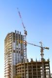 Gebäude des modernen Höhenhauses Lizenzfreie Stockfotos