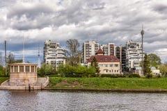 Gebäude des Nordwestmanagements auf Hydrometeorologie und Überwachung die Umwelt Lizenzfreie Stockbilder
