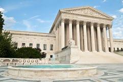 Gebäude des Obersten Gerichts der USA Stockfotos