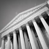 Gebäude des Obersten Gerichts der USA Lizenzfreies Stockbild
