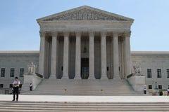 Gebäude des Obersten Gerichts der USA stockbild
