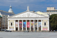Gebäude des Operen-und Ballett-Theaters in Voronezh Stockbilder