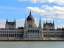 Gebäude des Parlaments in Budapest lizenzfreies stockfoto