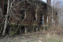 Gebäude des Verschlusses 19 Steuer stockbilder