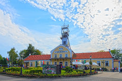 Gebäude des Wieliczka Salzbergwerks Lizenzfreies Stockbild