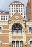 Gebäude, die 100 hundert Jahre überspannen Stockfoto