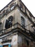 Gebäude-Ecke Stockfoto
